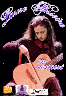 Affiche concert laure bisoire 2