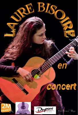 Affiche concert laure bisoire format png