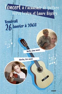 concert à l'Académie 26 janvier 2018